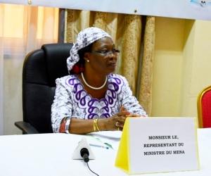 Catherine Kaboré, Représentante du Ministre de l'Education Nationale et de l'Alphabétissation