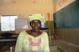 Aminata Hien Fofana, Chef de File du Groupe thématique Education de Base