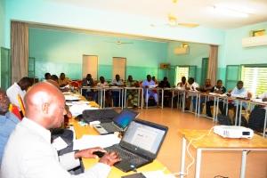 Les représentants des Organisations Membres du RODEB